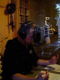 André Ziegenmeyer im Studio